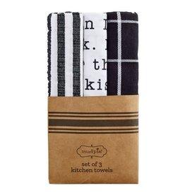 Mud Pie Circa Towel Set Kiss