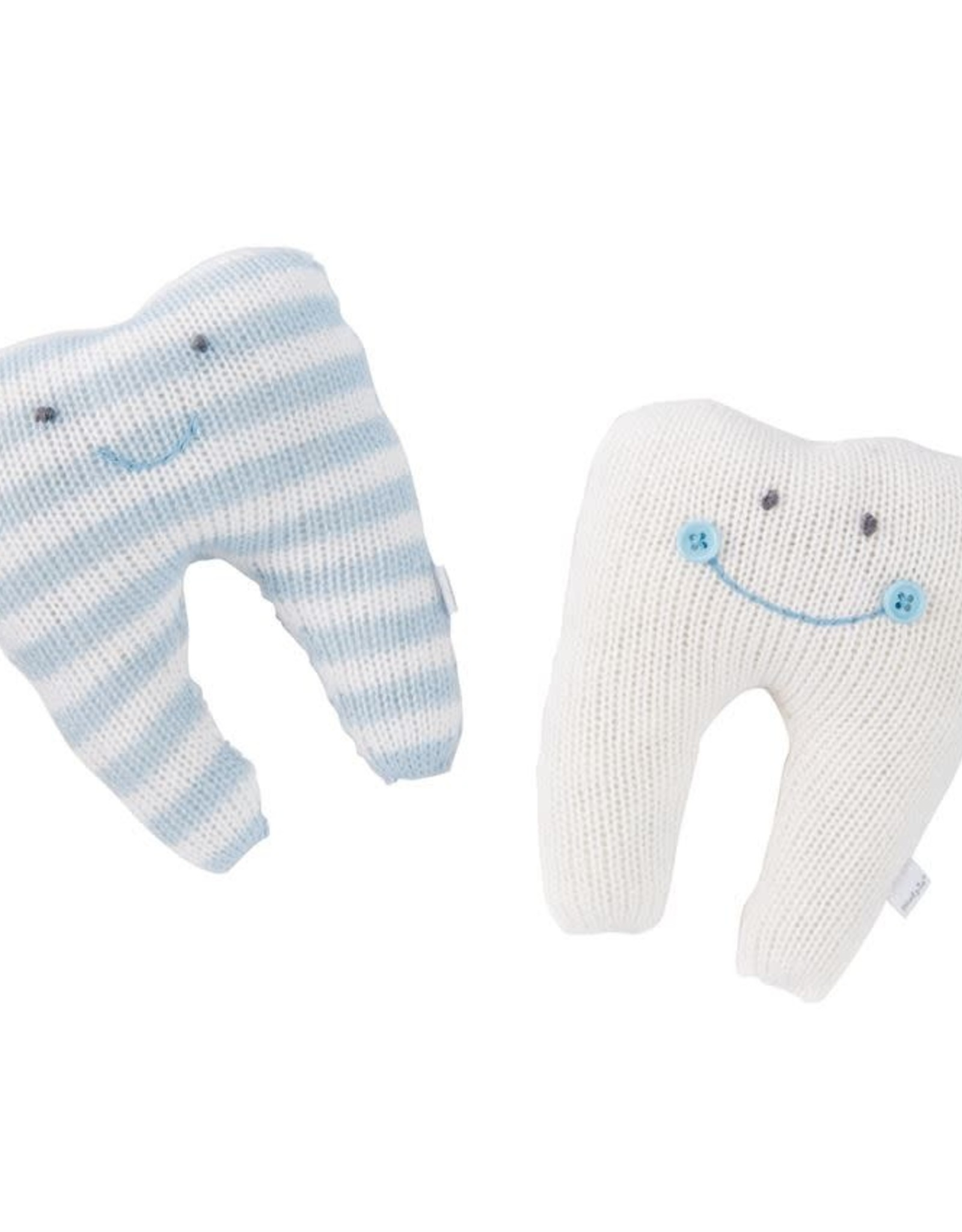 Tooth Pillow Blue Stripe