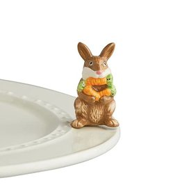 Nora Fleming Nora Fleming Attachment Funny Bunny Brown Bunny