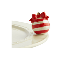 Nora Fleming Nora Fleming Attachment Deck the Halls Red Ornament