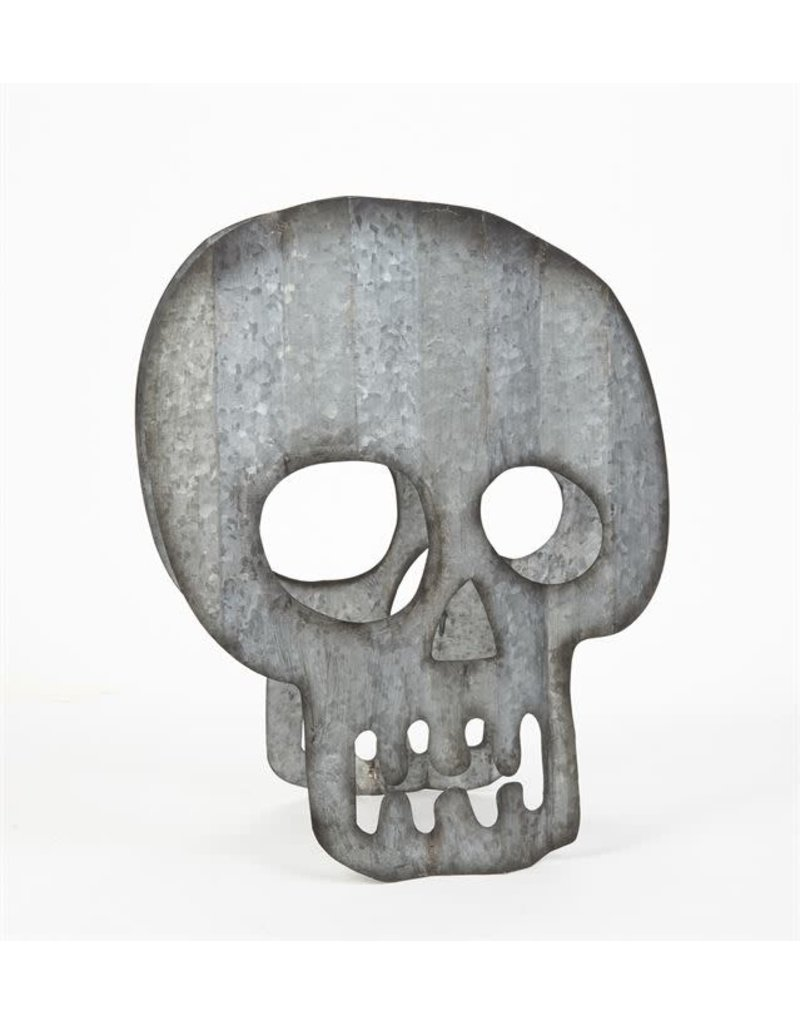 Mud Pie Halloween Sitter Skull