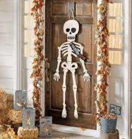 Halloween Door Hanging Skeleton