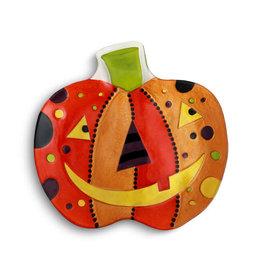 Halloween Festive Jack O Lantern Platter
