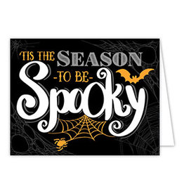 Greeting Card Halloween Tis the Season to be Spooky