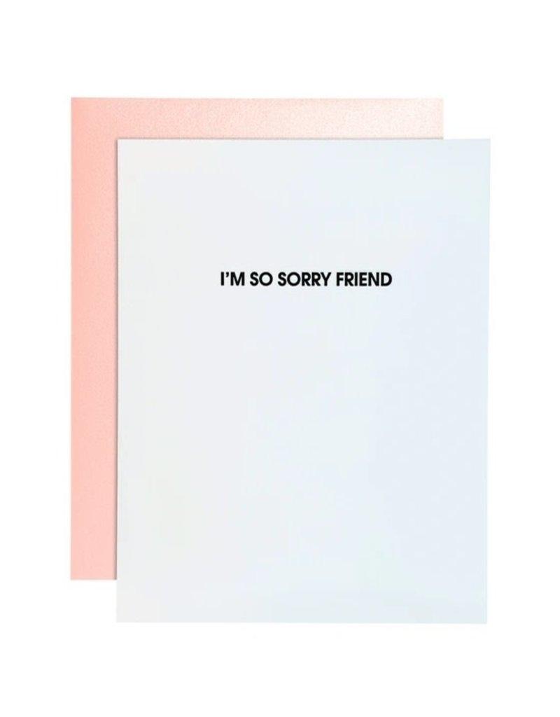 Card- I'm So Sorry Friend