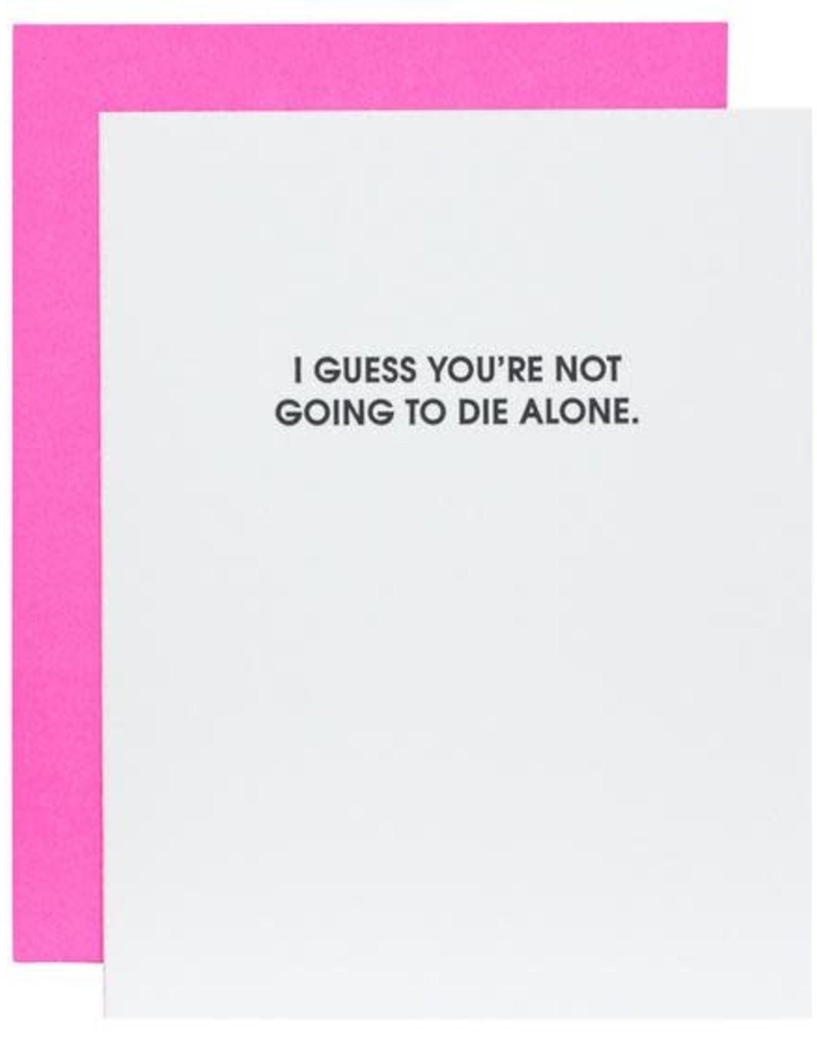 Chez Gagne Card- Die Alone