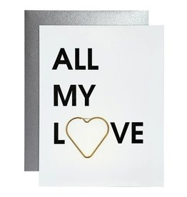 Chez Gagne Card- All My Love
