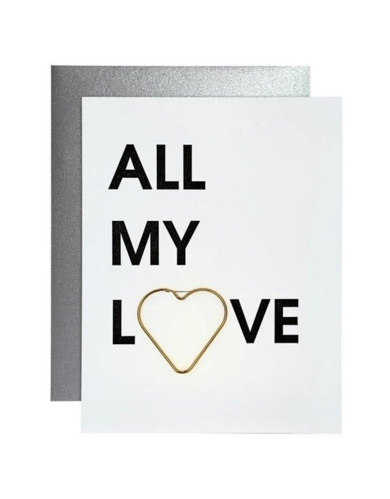 Card- All My Love