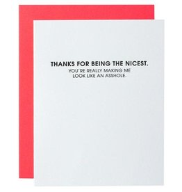 Chez Gagne Card- Being the Nicest