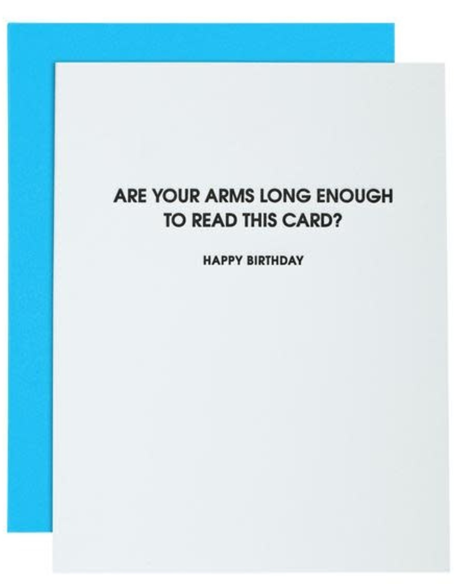 Chez Gagne Card- Arms Long Enough