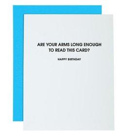 Chez Gagne Card- Arms Long Enough