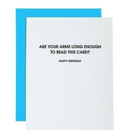 Card- Arms Long Enough