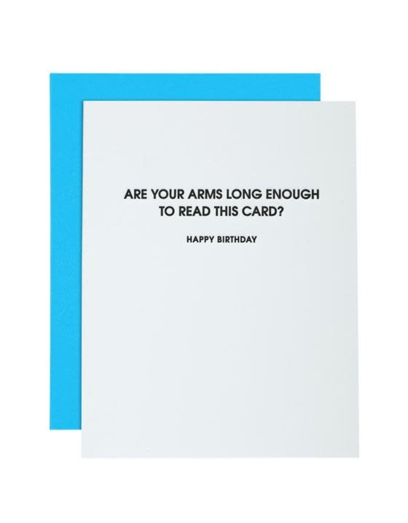 Card- Arms Long Enough