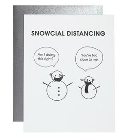 Chez Gagne Card- Snowcial Distancing