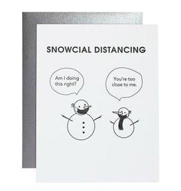 Card- Snowcial Distancing