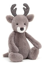 Jellycat Bashful Glitz Reindeer Medium