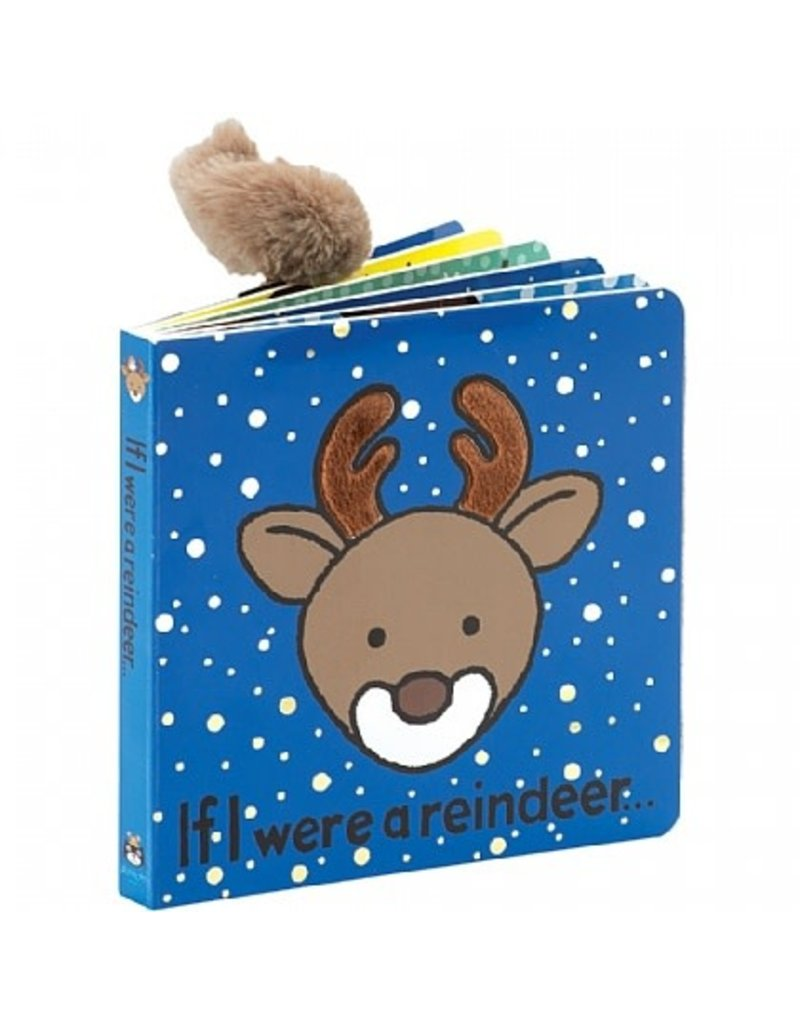 Jellycat Book- If I Were a Reindeer