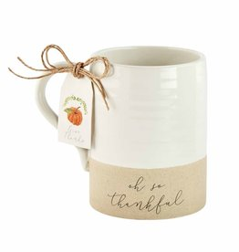Thanksgiving Stoneware Mug Thankful