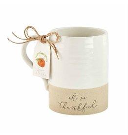 Mud Pie Thanksgiving Stoneware Mug Thankful
