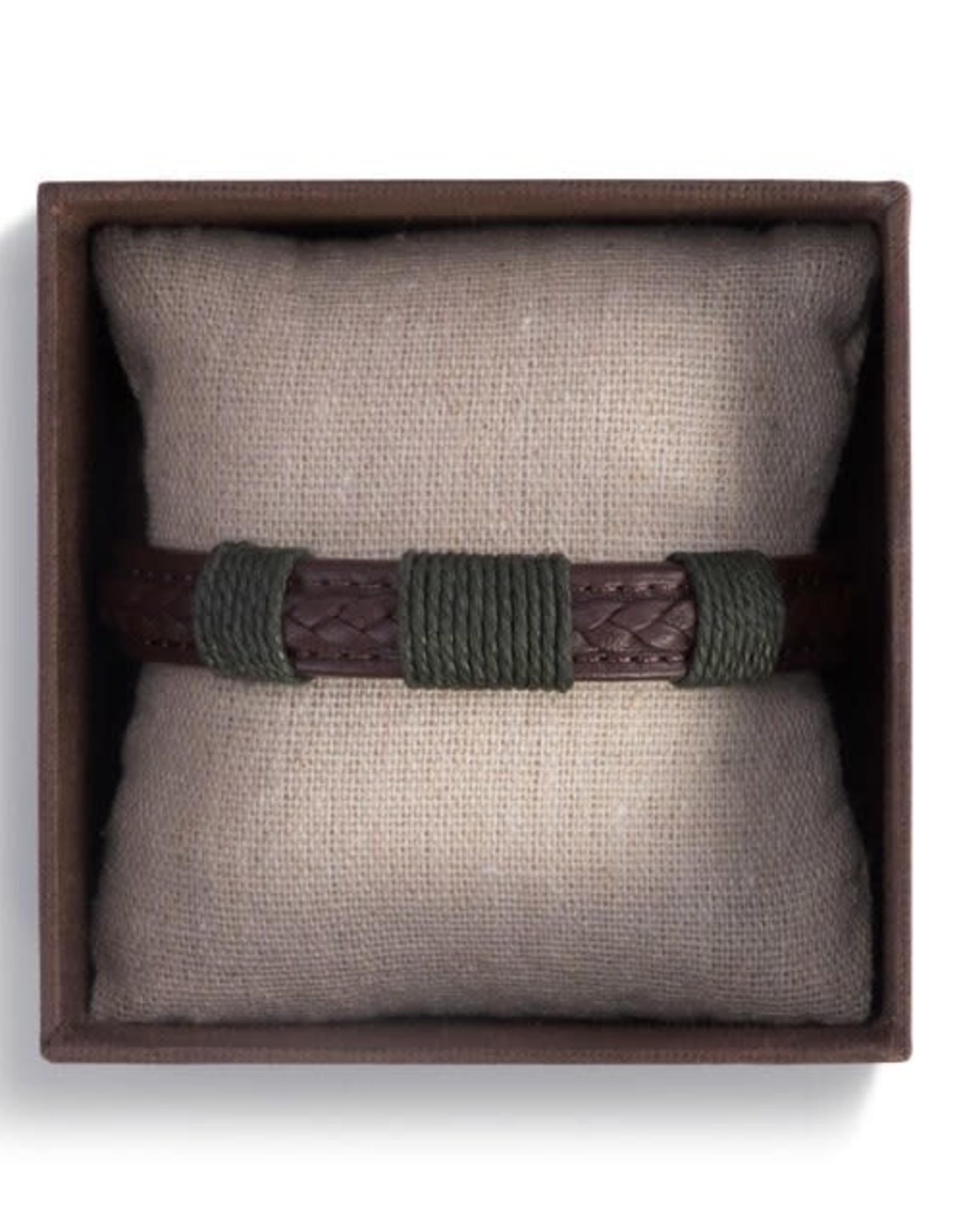 Journey Men's Bracelet - Brown
