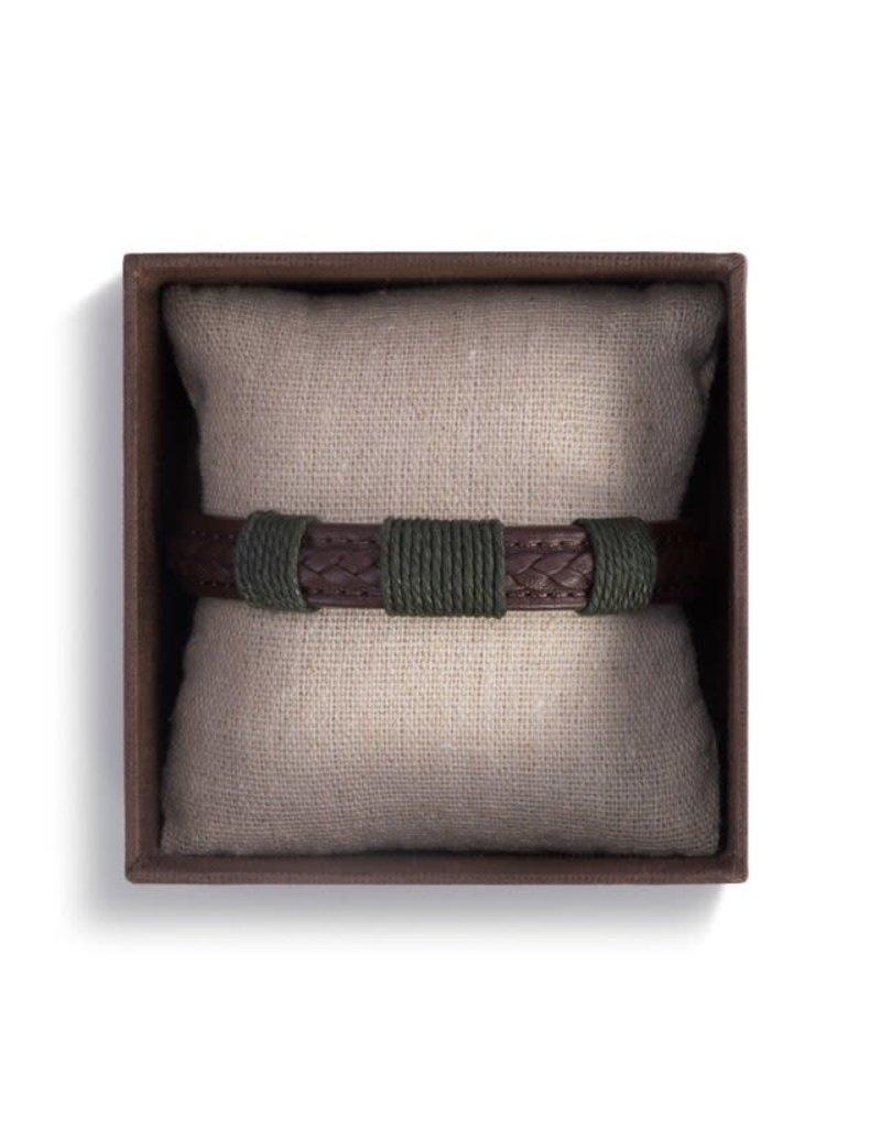 Demdaco Journey Men's Bracelet - Brown