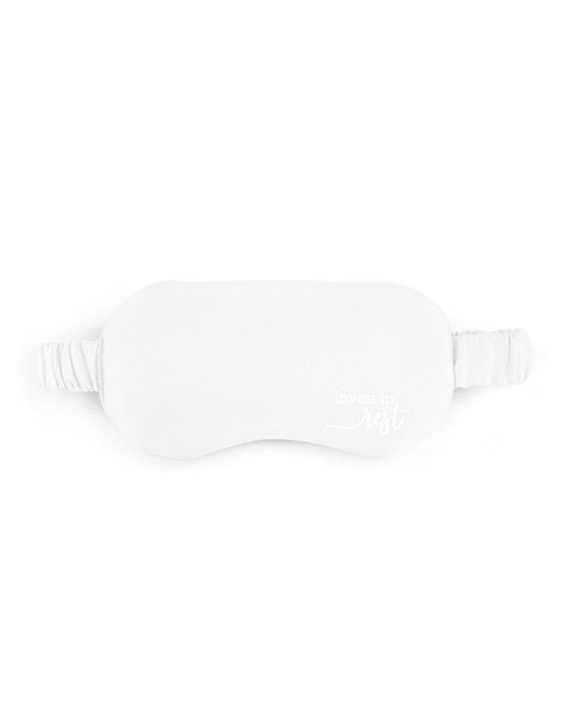 Demdaco Eye Mask Cream Satin Invest in Rest