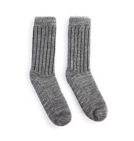 Demdaco Giving Socks Men's Gray