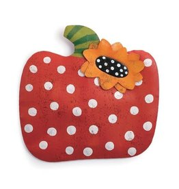 Demdaco Door Screening Polka Dot Pumpkin