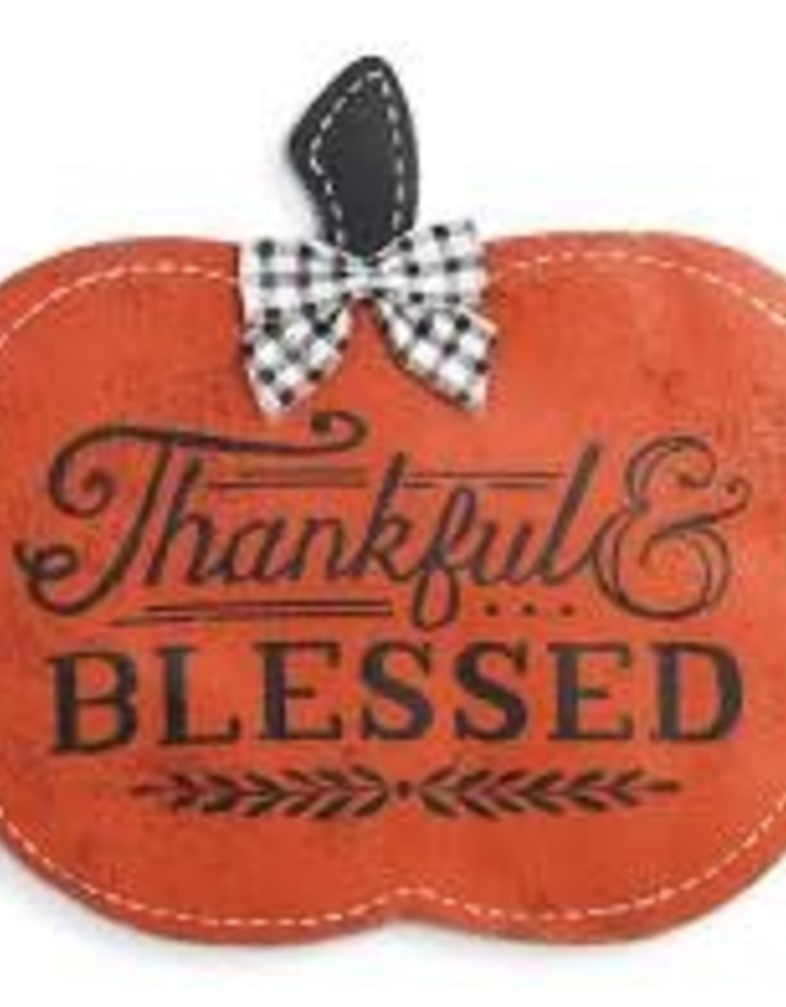 Door Screening Thankful & Blessed Pumpkin