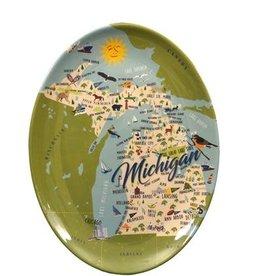 Galleyware Platter- Michigan