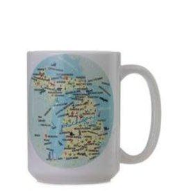Galleyware Mug Michigan