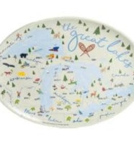 Galleyware Platter- Great Lakes