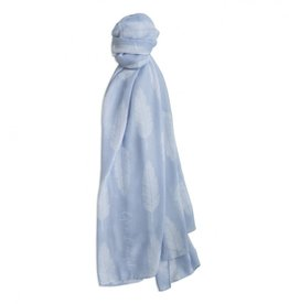Katie Loxton Sentiment Scarf Life is Beautiful Powder Blue