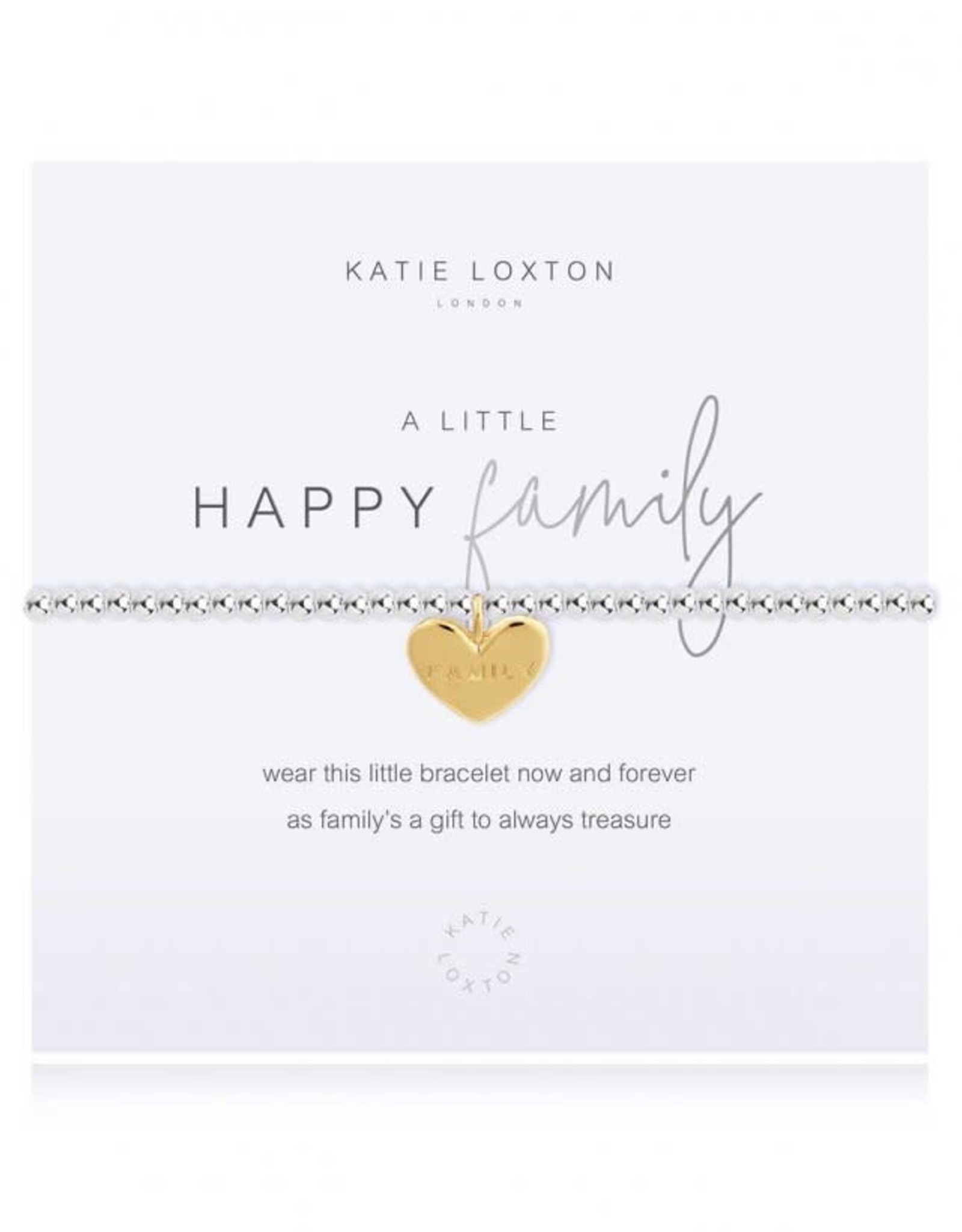 Katie Loxton Bracelet-A Little Happy Family