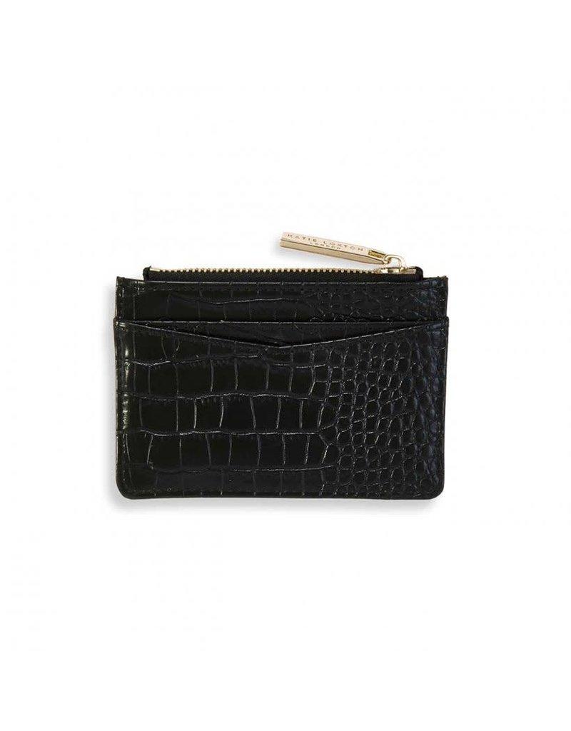 Katie Loxton Katie Loxton Celine Croc Cardholder Black