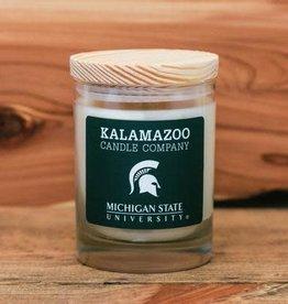 Kalamazoo Candle Company 10oz Candle MSU Spartan Logo