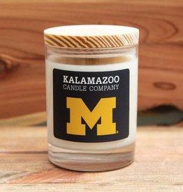 Kalamazoo Candle Company 10oz Candle U of M Logo