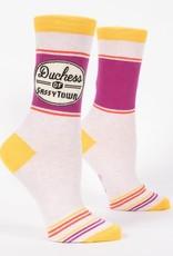 Blue Q Blue Q Women's Crew Socks Duchess of Sassytown