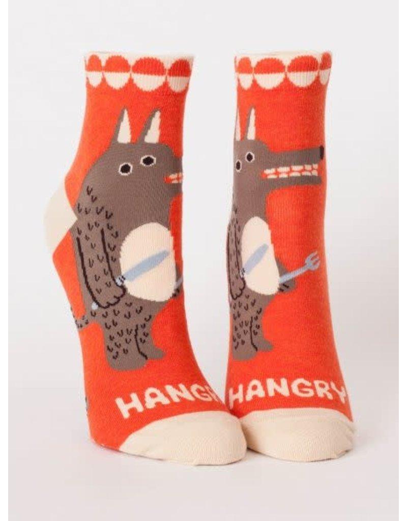 Blue Q Blue Q Women's Ankle Socks Hangry