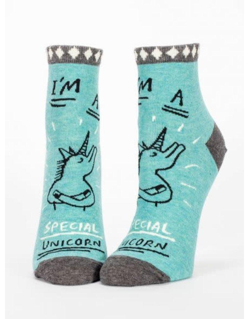 Blue Q Blue Q Women's Ankle Socks Special Unicorn
