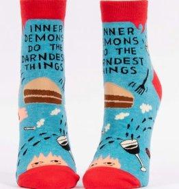 Blue Q Blue Q Women's Ankle Socks Inner Deamons