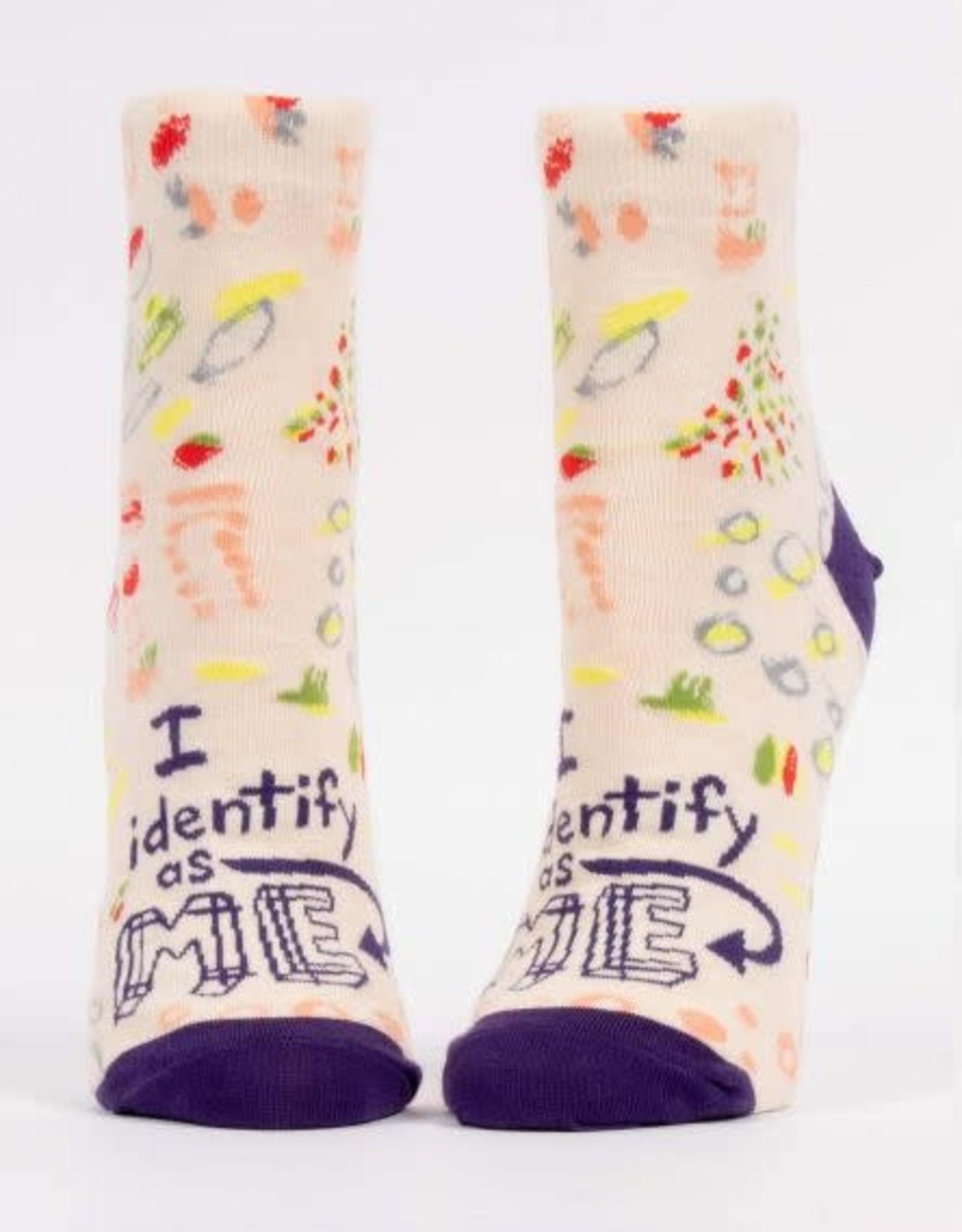 Blue Q Blue Q Women's Ankle Socks I Identify as Me
