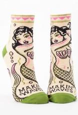 Blue Q Blue Q Women's Ankle Socks Makin Waves