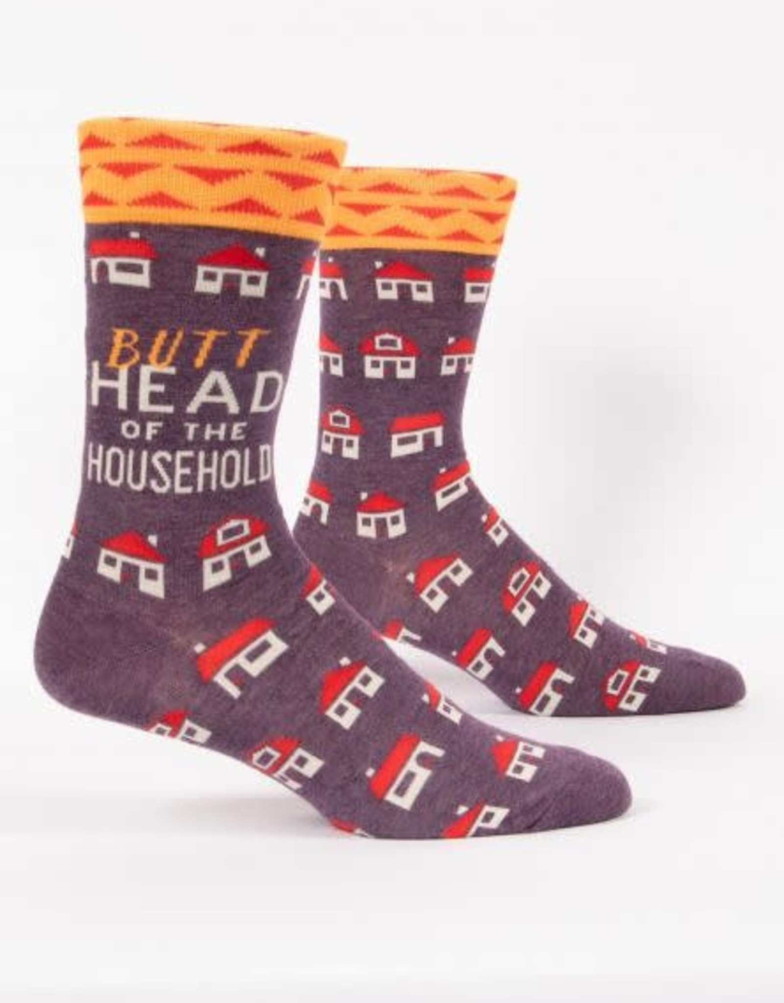 Blue Q Blue Q Men's Crew Socks Butthead Household