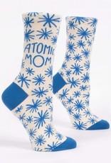 Blue Q Blue Q Women's Crew Socks Atomic Mom