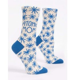 Blue Q Blue Q Women's Crew Socks Atomic Mom
