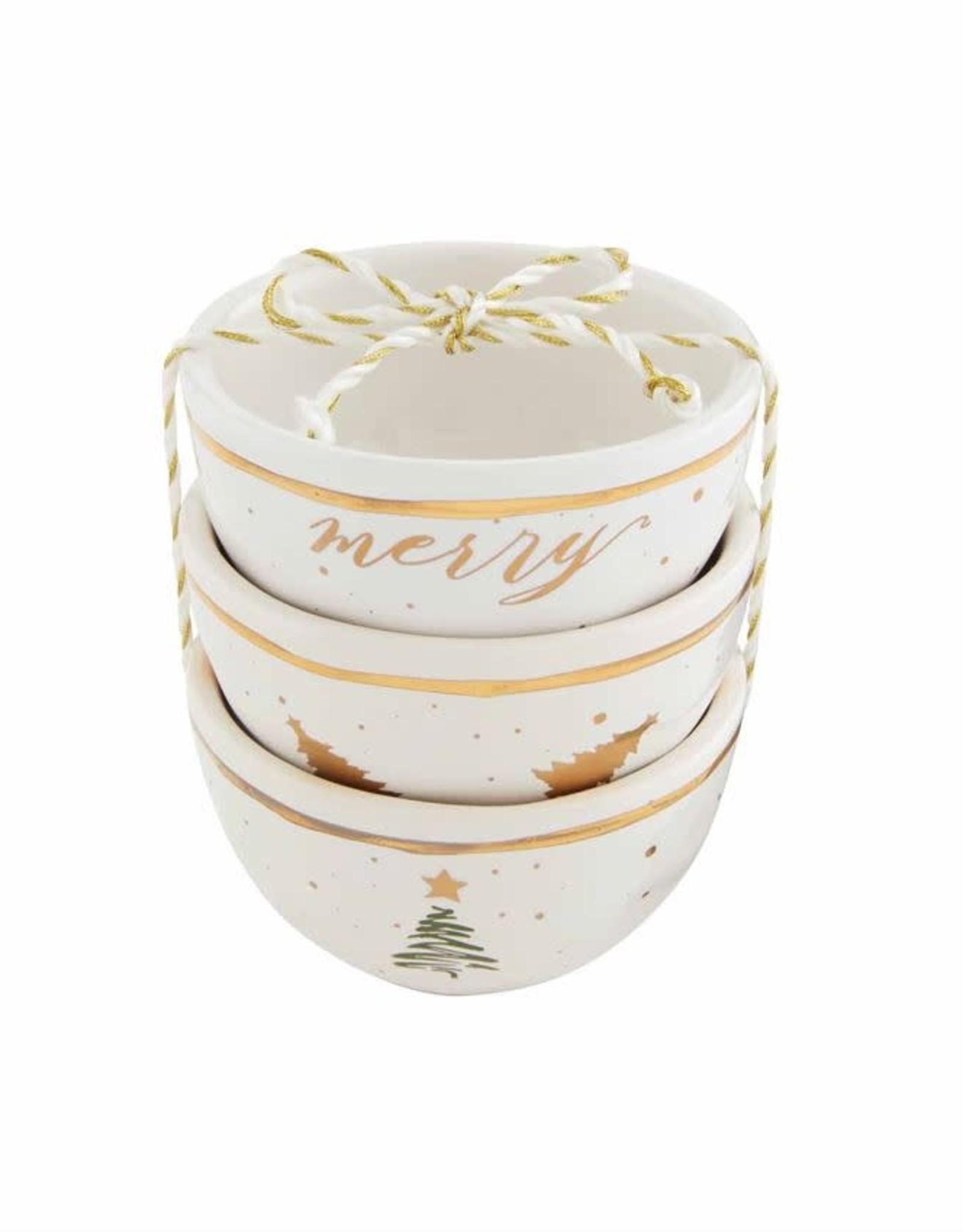 Holiday Christmas Dip Cup Set