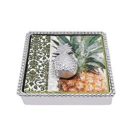Mariposa Napkin Box - Pineapple
