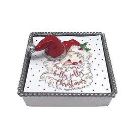 Mariposa Napkin Box - Santa Hat