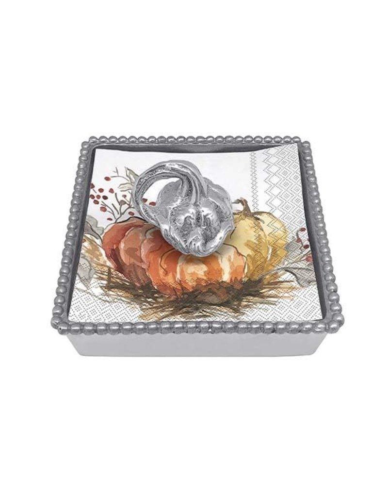 Mariposa Napkin Box - Heirloom Pumpkin